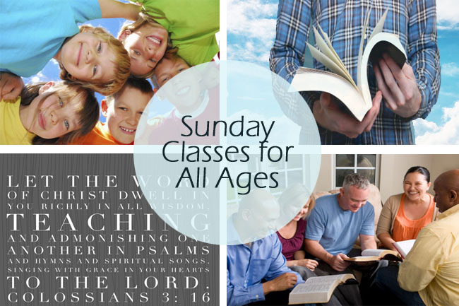 Sunday School Classes for Everyone Church of Christ in Reno Nevada Programs Teaching the Word of God Church of Christ